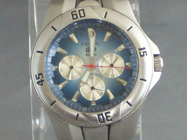 4032f892c0 Men s Watches - FOSSIL Blue series BQ 9198 multi function watch was ...