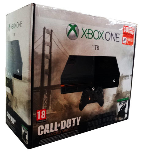 Consoles xbox one 1tb limited edition call of duty advance warfare console and accessories 4 - Xbox one console day one edition ...