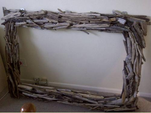 driftwood frame size 1550mm x 1100mm - Driftwood Picture Frames