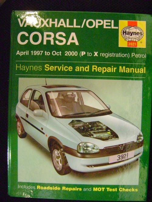 workshop manuals vauxhall opel corsa petrol apr 97 oct 00 p to rh bidorbuy co za Opel Corsa Bakkie Fan Opel Corsa Bakkie Sport
