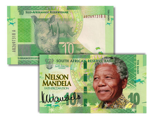 The South African Rand Is Currency Of Africa And Issued By Reserve Bank Takes Its Name From Wiersrand