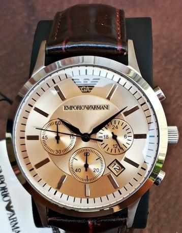 attractive price new lifestyle new high quality Emporio Armani Mens AR2433 Chronograph ***AUTHENTIC*** CLASS***LOOKER***