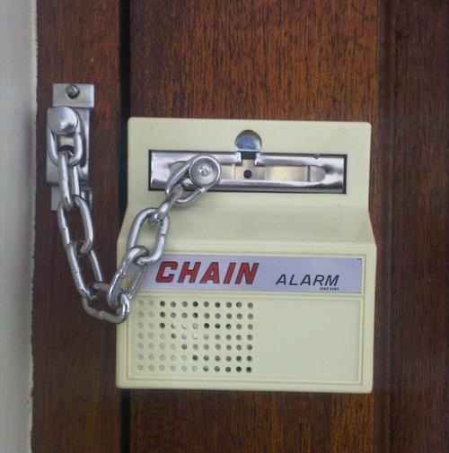 Alarm Systems Door Chain Burglar Alarm Easy To Install