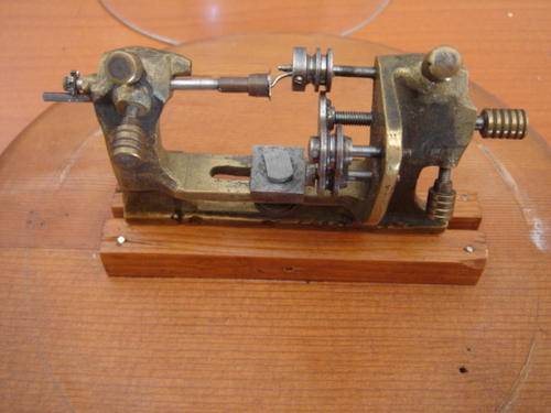 Tools Handmade Lathe Made By A German Prisoner Of War In
