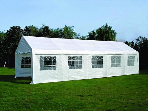 BUDGET FREESTANDING FRAME TENTS & Tents - BUDGET TENT 5 M X 10 M FRAME STEEL PE FABRIC was listed ...
