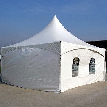 6 M X 6 M MARQUEE TENT PYRAMID PVC FREESTANDING Marquee Tent With Sides Complete With Free Windows & Tents - 6 M X 6 M MARQUEE TENT PYRAMID PVC FREESTANDING Marquee ...