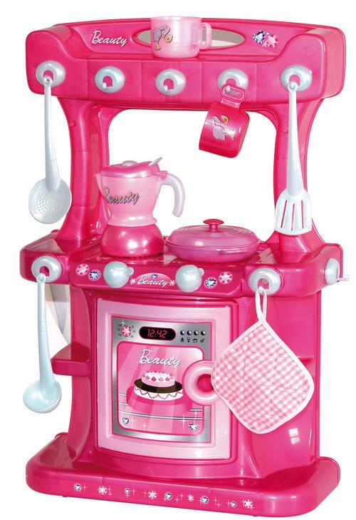 Kitchen Amp Housework Pink Free Standing Kitchen Playset