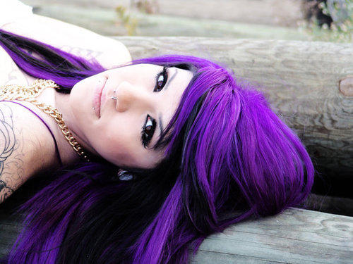 Neon Purple Henna Hair Dye 100ml Free Postage
