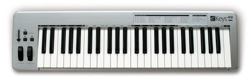 electronic evolution ekeys 49 key midi controller keyboard was sold for on 9 feb at 09. Black Bedroom Furniture Sets. Home Design Ideas