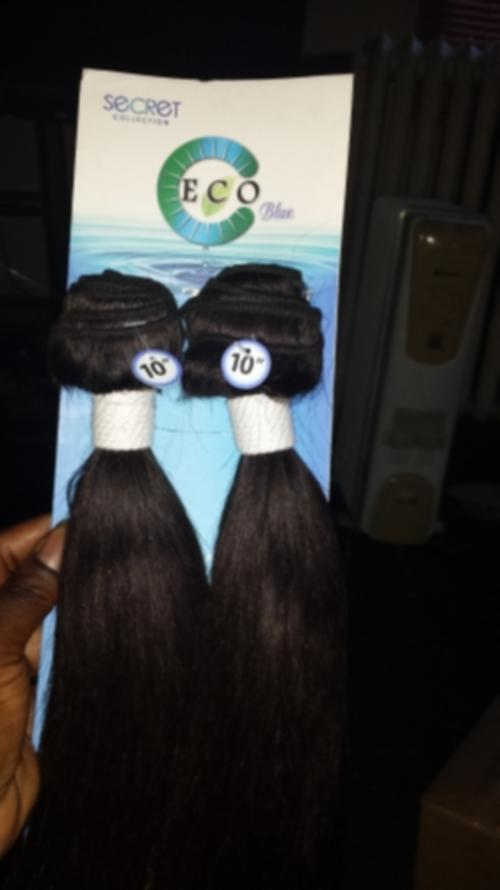 Hair Styling Products Eco Blue Brazilian Human Hair Weave Yaki 12