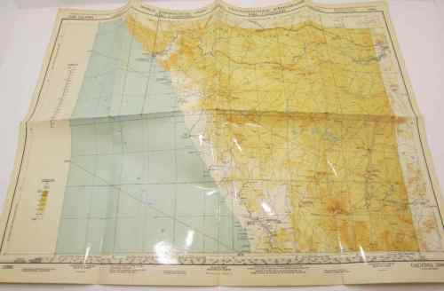 World Aeronautical Chart - Calvinia 3396 - 72,5cm/46cm