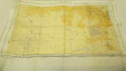 World Aeronautical Chart - Lusaka 3152 - 87cm/62cm