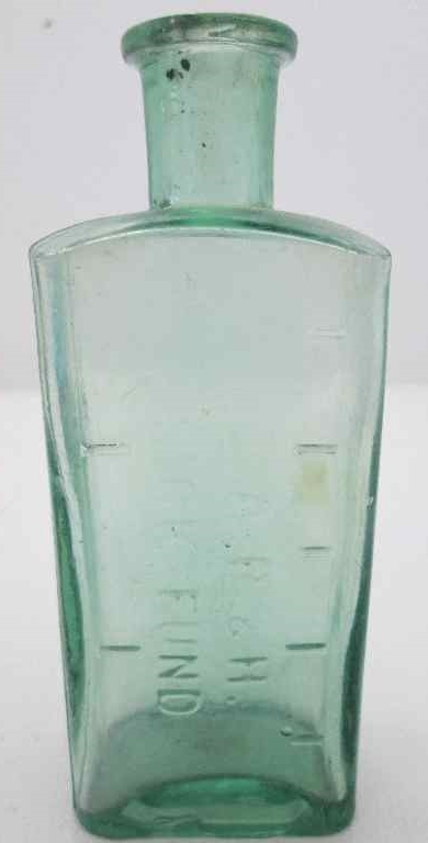S.A.R. & H. Sick Fund Bottle - 12cm/4,5cm/3cm
