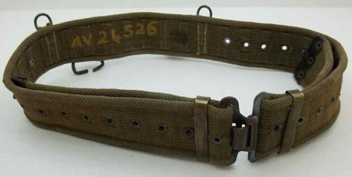 Old Military Belt - See Ad