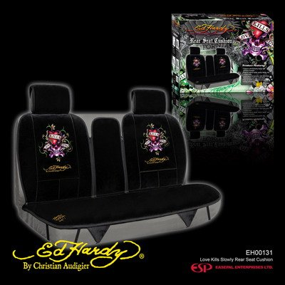 ED HARDY REAR SEAT COVERS