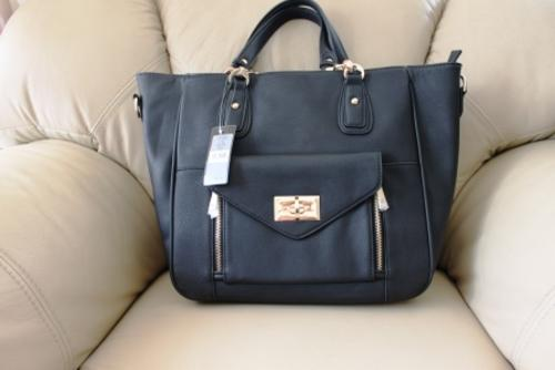 Forever New Handbag Lilia Day Bag Black