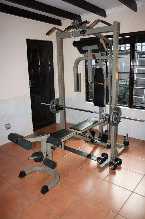 Home gyms trojan power cage gym was sold for r