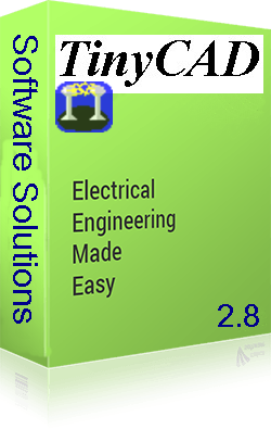 TinyCAD 2 8 drawing electrical circuit diagrams Software