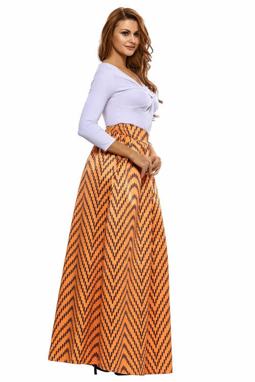 skirts print maxi skirt s m l xl was listed