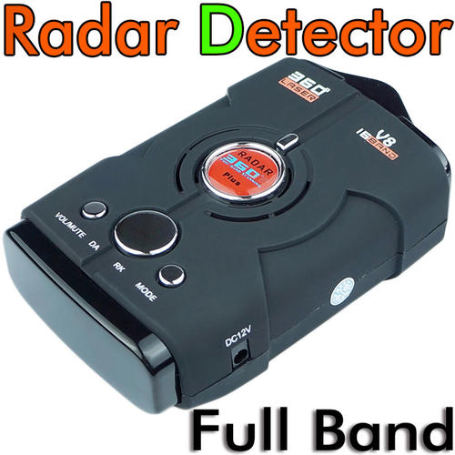 NEW 360 Plus Full Band Car Speeding Radar Detector Scanning Early Warning  System with Display Screen