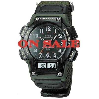 Casio Mens Ana-Digi Forester Illuminator Sport Watch #FT610WV-3BV