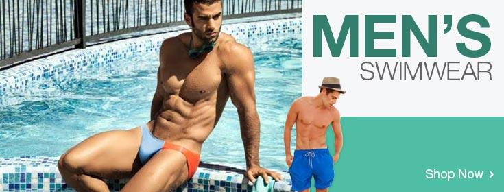 Men's Swimwear. Shop Now!