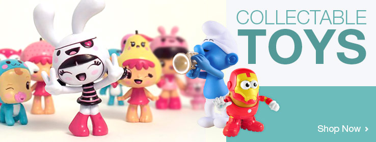 Collectable Toys. Shop Now!