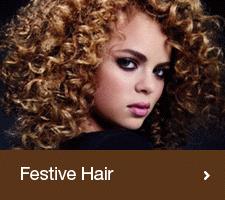 Festive Curly Hair