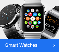 Range of Smart Watches. Buy Now!