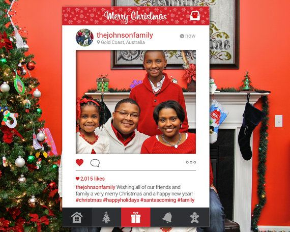 Diy christmas photo booth just like that your photo booth is ready to provide you with even more fun than you had making it wishing you a happy festive season solutioingenieria Image collections