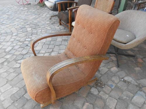Incroyable Vintage Banana Rocking Chair