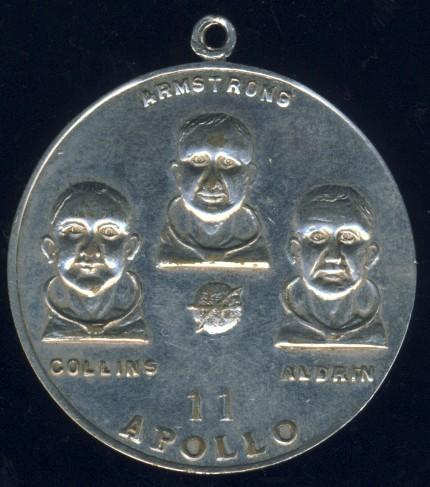 apollo 11 moon landing commemorative coin - photo #37