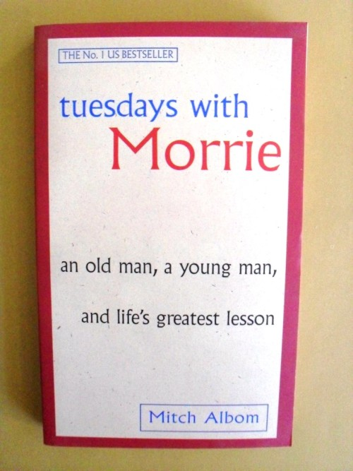 book report of tuesdays with morrie Mitch albom chronicles the time he spent with morrie schwartz, his college professor from nearly twenty years ago, after he rediscovered morrie in the last months of.