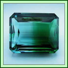 Quartz Blue-Green 39.74ct