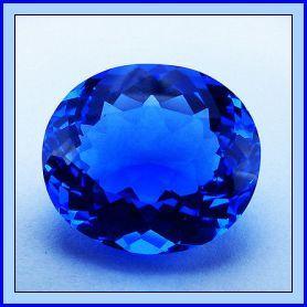 Quartz Blue 31.18ct
