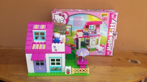 Other lego building toys lovely hello kitty building - Lego hello kitty maison ...