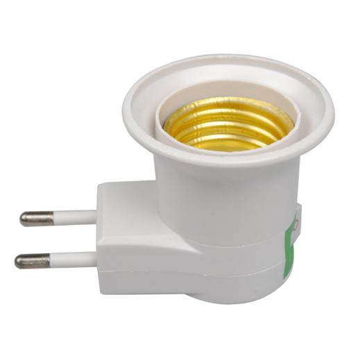 other home decor e27 lamp light bulb plug socket adapter. Black Bedroom Furniture Sets. Home Design Ideas