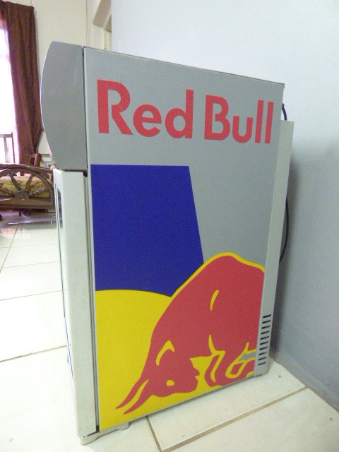 other bar accessories an awesome modern red bull mini. Black Bedroom Furniture Sets. Home Design Ideas