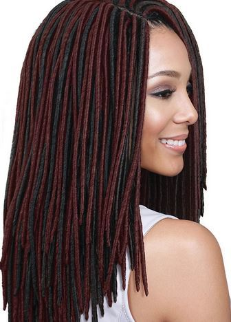 Crochet Braids Xpression Multi : - Xpression multi dread 55inch heat resistant braiding hair crochet ...