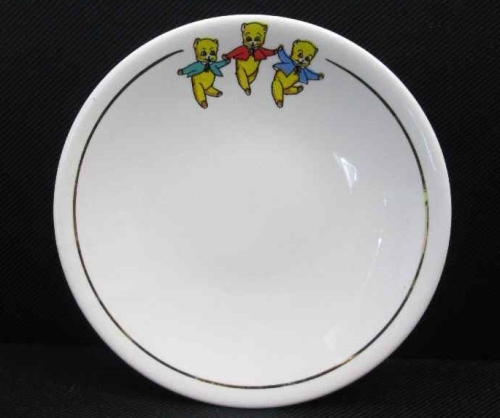 Beares (Furniture Store) Saucer - Zaalberg Pottery - Diameter 15,5cm