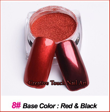 Nail Art Color Chrome Pigment Powder
