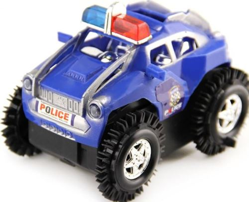 Toy Cars That Flip Over : Cars motorcycles battery operated flip over police