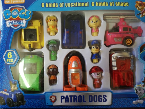 Paw Patrol Cake Toppers South Africa