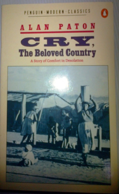 An analysis of the book cry the beloved country