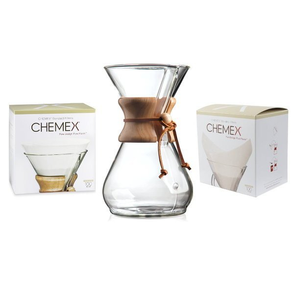 Chemex Coffee Maker Parts : Espresso & Coffee Machines - Chemex Coffee Maker 8 Cup & Filter Bundle was listed for R1,299.00 ...