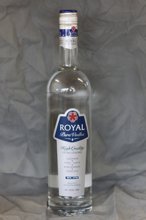 Vodka Royal Vodka 96 Alcohol Was Listed For R399 00 On