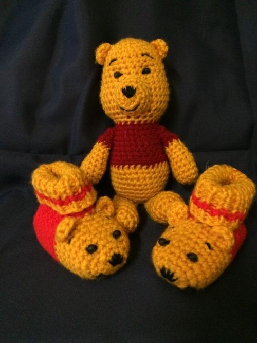 Amigurumi Winnie De Pooh : Soft Toys - *Lovely Gift* Crocheted Amigurumi Toy ...