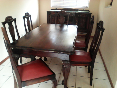 Other furniture ball and claw dining room set gauteng for Dining room sets under 500 00