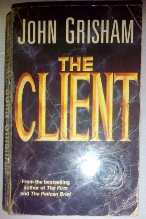 an analysis of john grishams crime novel the client The testament is one of my favorite books by john grishamhe's so well know for his legal thrillers, like the firm, the client, or a time.