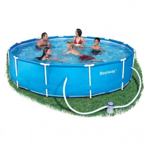 other swimming pools spas bestway steel pro frame pool set 366cm x 76cm was listed for. Black Bedroom Furniture Sets. Home Design Ideas